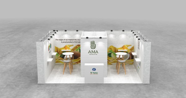 6X4m Tussenstand - Mobiele beursstand