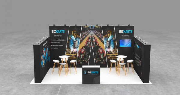 7X4m Tussenstand - Mobiele beursstand